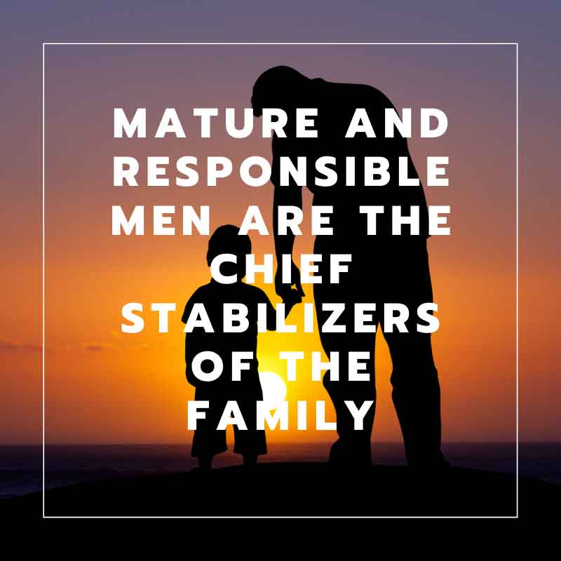 fathers as chief stabilizers